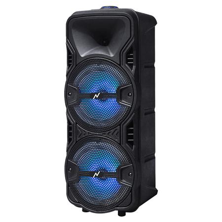 Parlante Portable Inalámbrico BT Karaoke con LED